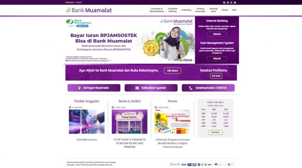 Situs Bank Muamalat Indonesia