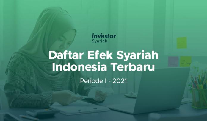 Daftar Efek Syariah Indonesia Terbaru